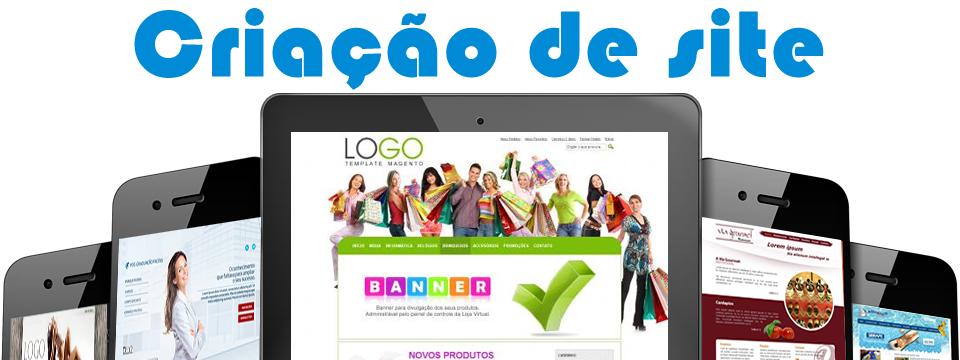 Criação de Sites e Lojas Virtuais