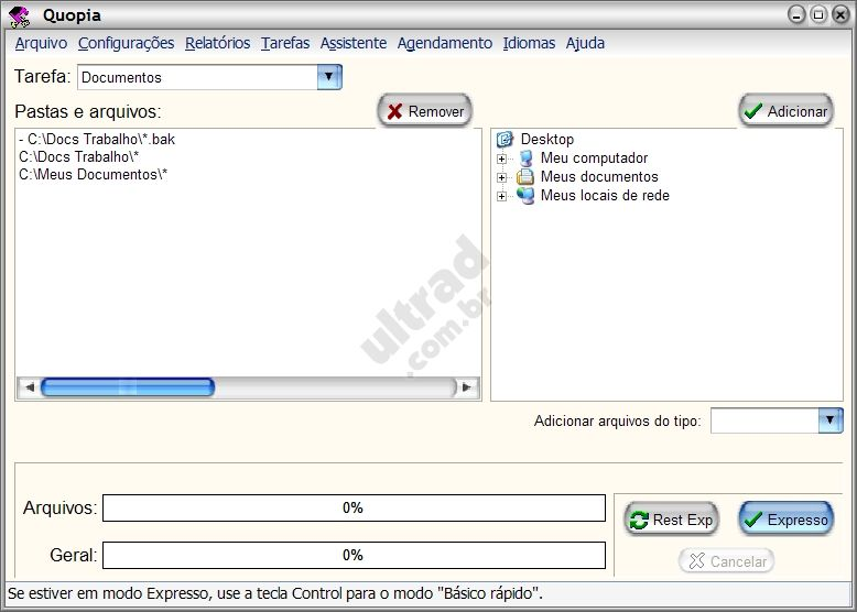 Software backup Quopia