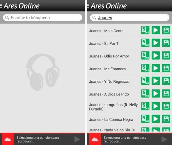 Ares online musica gratis