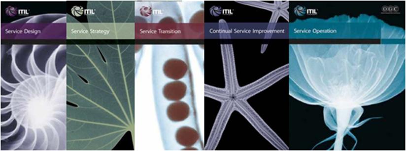 5 livros ITIL V3